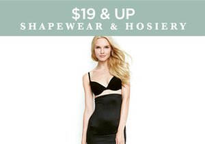 $19 & Up: Shapewear & Hosiery