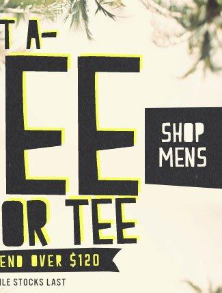 Mens Free Dress or Tee