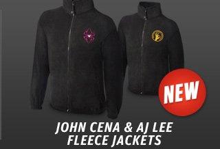 John Cena & AJ Lee Fleece Jackets