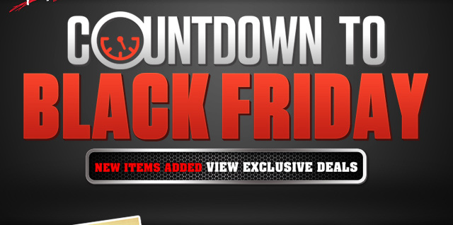Black Friday Countdown More Items Added!