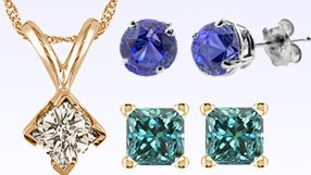 Vir Jewels Diamond Studs and Pendants