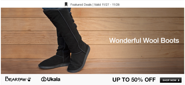 Wonderful Wool Boots
