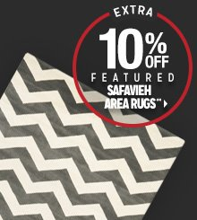 Extra 10% off Featured Safavieh Area Rugs**