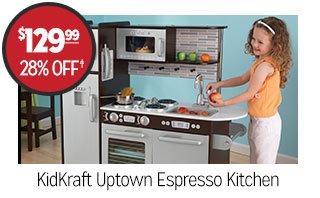 KidKraft Uptown Espresso Kitchen - $129.99 - 28% off‡