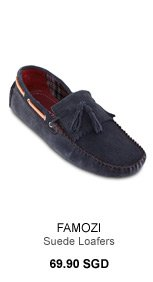 Famozi Suede Loafers