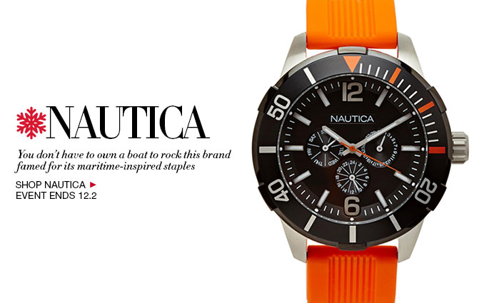 Shop Classic Nautica Watches for Men