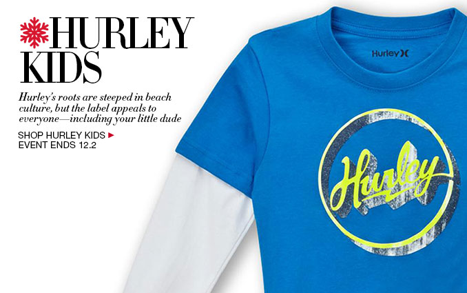 Shop Hurley for Boys