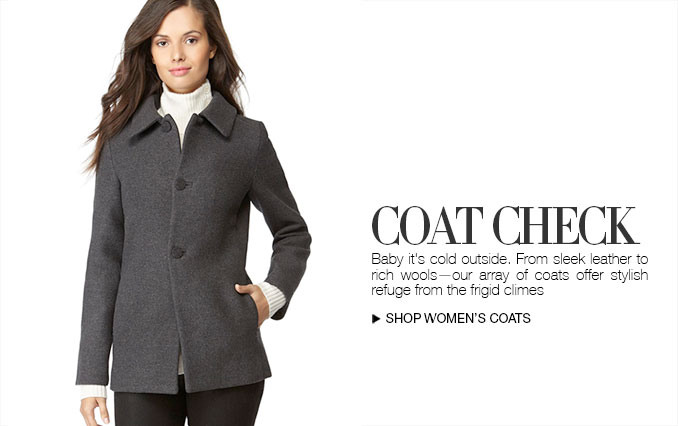 Shop Wool Coats for Women