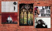 Elusive Banksy: NYC Tags & Bestsellers | Shop Now