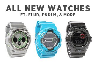 Sunday Night Select: New Watches