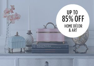 Up to 85% Off: Home Décor & Art
