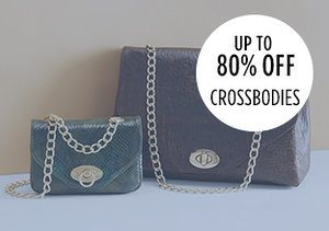 Up to 80% Off: Crossbodies