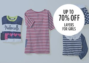 Up to 70% Off: Layers for Girls