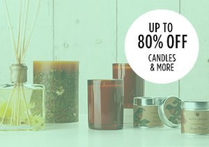 Up to 80% Off: Candles & More