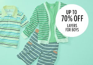 Up to 70% Off: Layers for Boys