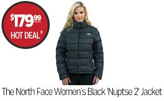 The North Face Women's Nuptse 2 Jacket  - $179.99 - HOT DEAL�