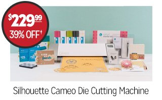 Silhouette Cameo Die Cutting Machine - $229.99 - 39% off�