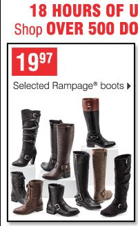 19.97 Selected Rampage boots
