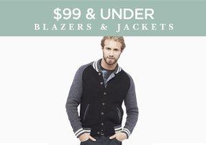 $99 & Under: Blazers & Jackets