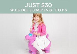 Just $30: Waliki Jumping Toys
