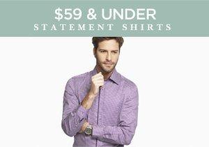 $59 & Under: Statement Shirts