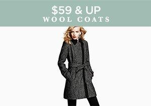 $59 & Up: Wool Coats