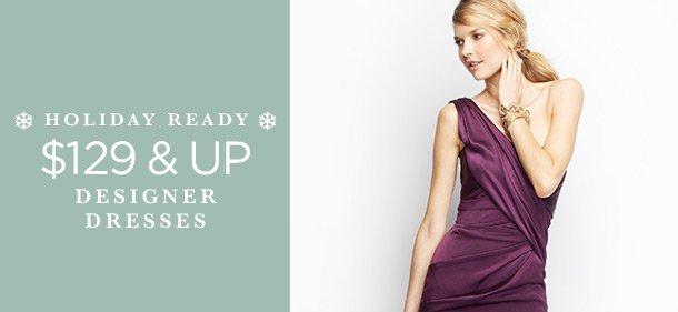 $129 & Up: Designer Dresses