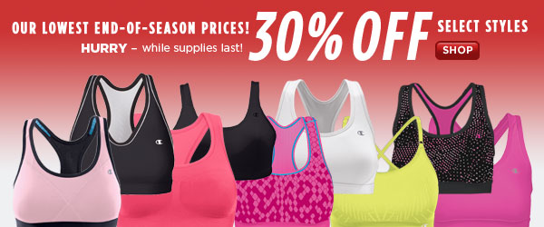 SHOP End-of-Season Women's Sale