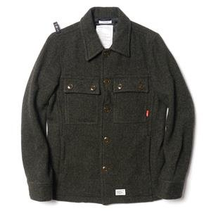 WTaps CPO Jk / Jacket. Wool. Hell In Bone