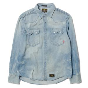 WTaps Allman L/S / Shirts. Cotton. Denim