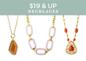 $19 & Up: Necklaces