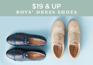 $19 & Up: Boys' Dress Shoes