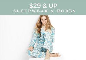 $29 & Up: Sleepwear & Robes
