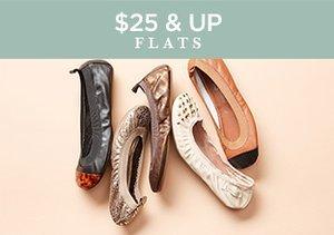 $25 & Up: Flats