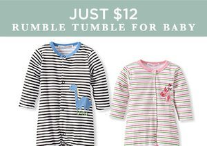 Just $12: Rumble Tumble for Baby