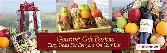 Gourmet Gift Baskets-Tasty Treats For Everyone.
