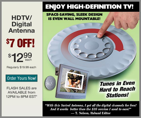 $7 OFF Digital Antenna