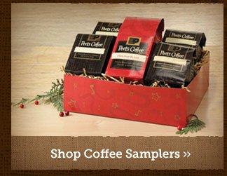 Shop Coffee Samplers »