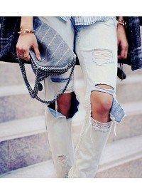 10 Ways To Wear Distressed Denim Now