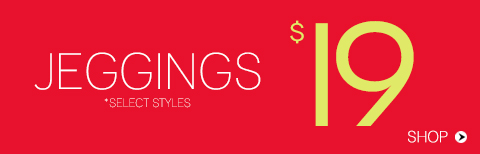 Jeggings from $19