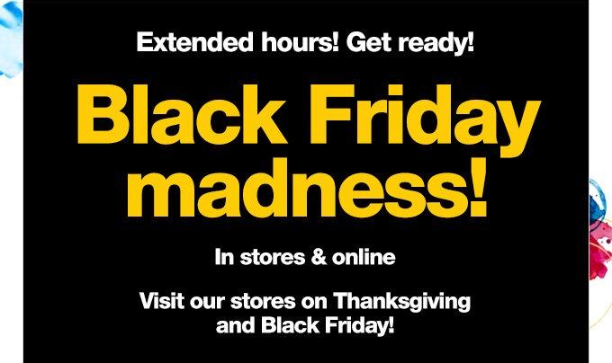 Black Friday madness!
