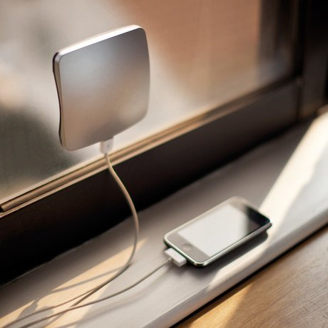 Window Solar Charger // Silver