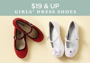 $19 & Up: Girls' Dress Shoes