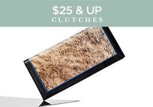 $25 & Up: Clutches
