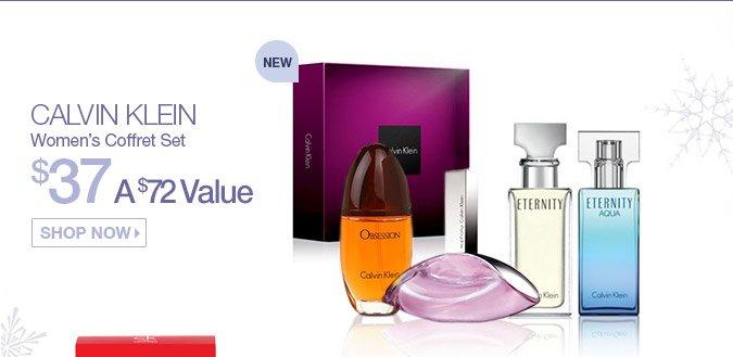 Calvin Klein Women's Coffret Set $37. A $72 Value. Shop Now.
