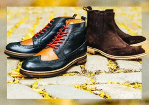 Shop Ben Sherman: New Boots & Brogues