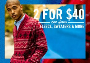 Shop 2 for $40 Best Sellers ft. Fleece