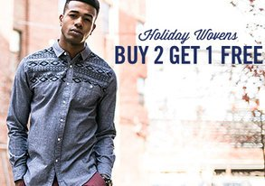 Shop Holiday Wovens from $30