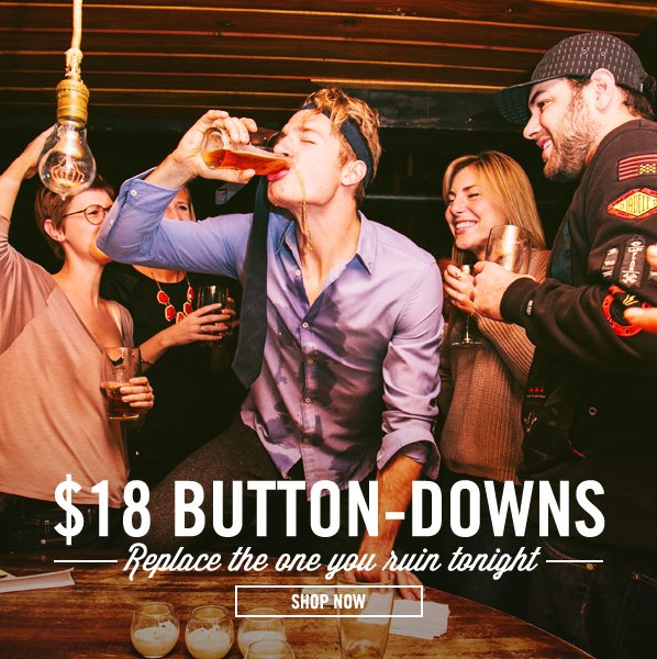 Shop $18 Button-Downs: Buy Your Backup