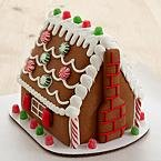 Personalized Handmade Gingerbread House